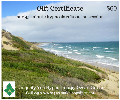 Relaxation Gift Certificate